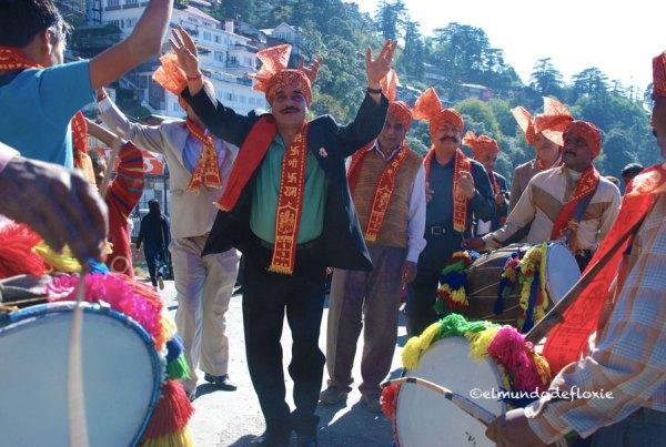 Celebración en Shimla