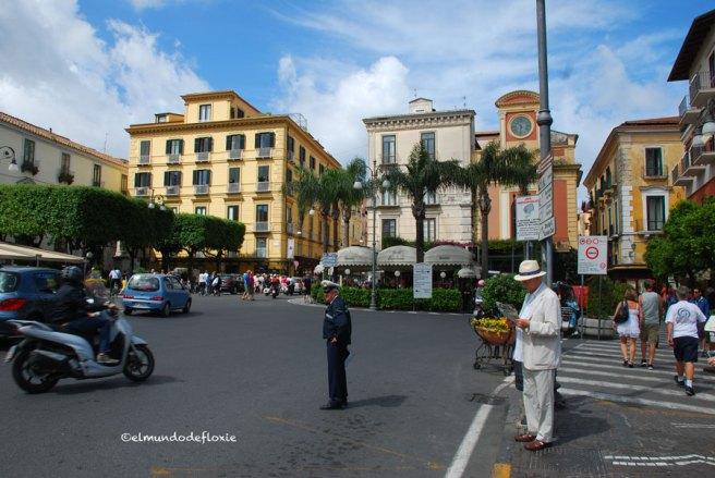 El centro de Sorrento