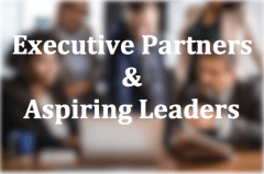 Executive Partners and Aspiring Leaders Button on Executive Coaching Services by Floyd Jerkins