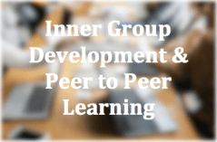 Inner Group Development and Peer to Peer Learning Button on Executive Coaching Services by Floyd Jerkins