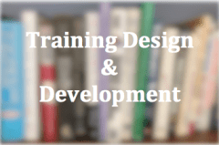 Training Design and Development Button on Executive Coaching Services by Floyd Jerkins