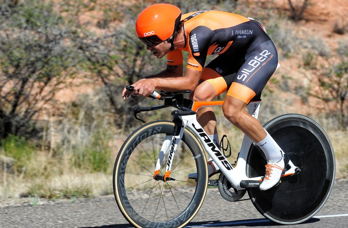Alec Cowan was 9th in the Gila TT ©2017 Brian Hodes / VeloImages