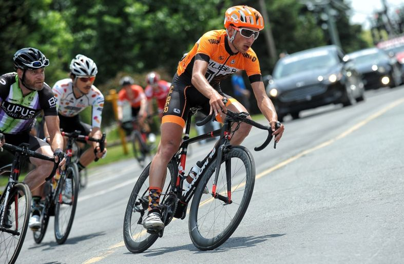 Masbourian was on the front all day on both Stage 1 and 2 ©Brian Hodes / VeloImages