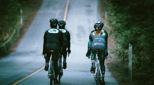 Musette Caffé organizes training rides, events, etc. Their clothing is made by Giordana