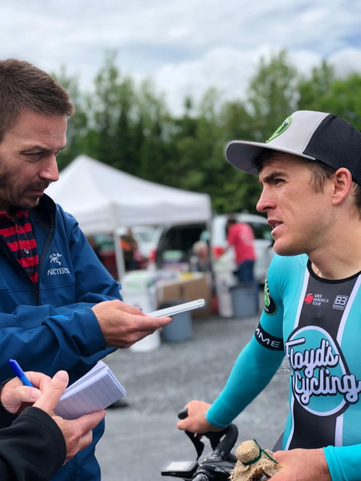 Serghei Interviewed post ITT win © Jen Agan