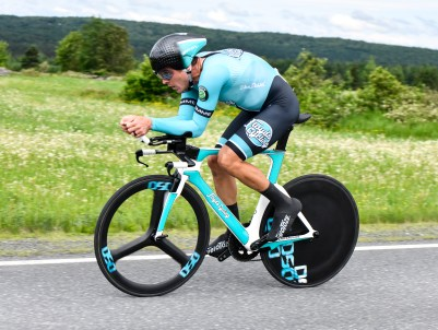 Stage 3a: Serghei Tvetcov won the Stage 3a ITT for the second year in a row. ©canadiancyclist.com
