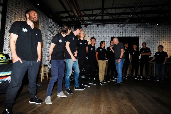 Team launch and party