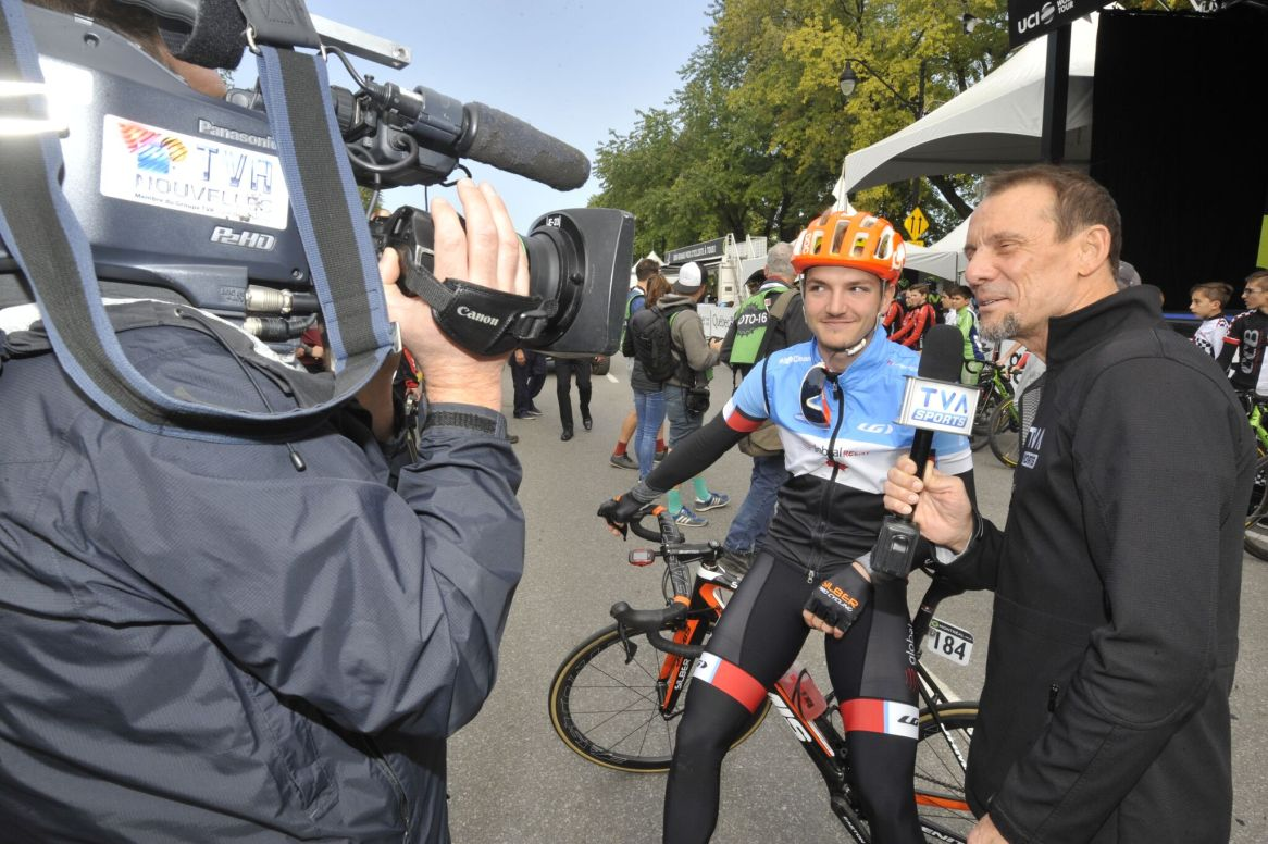 Representing Canada at the WT races in Quebec and Montreal (GPCQM) © VeloImages