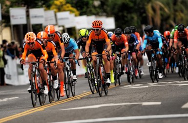 Controlling the front of the criterium. Stage 4