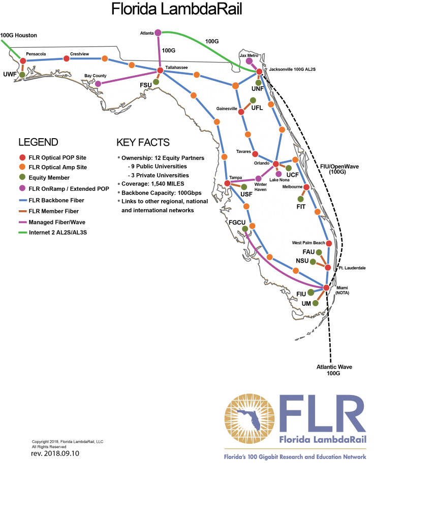 hight resolution of deployed over 1 540 miles of dark fiber the flr network infrastructure provides for a dedicated statewide communications facility linking major nodes