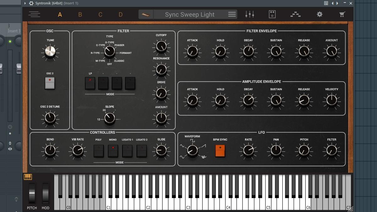 syntronik free virtual synthesizer