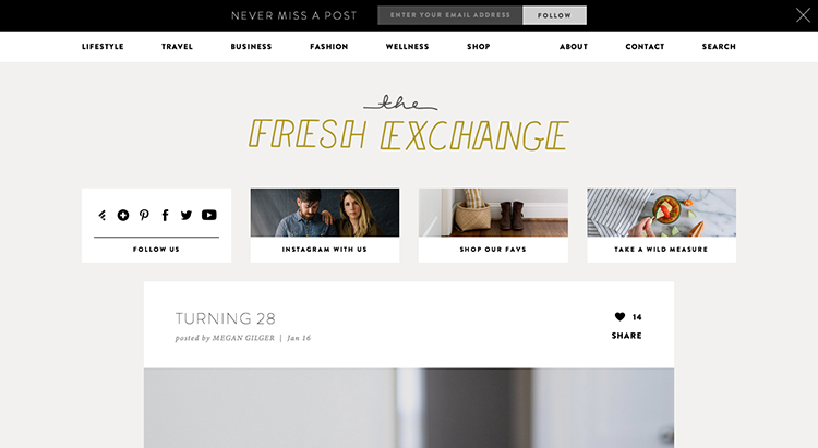 The Fresh Exchange