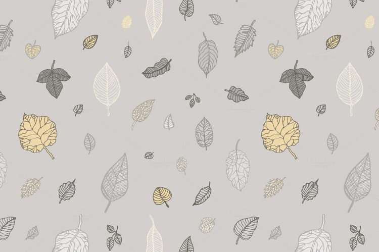 leaves in background patterns