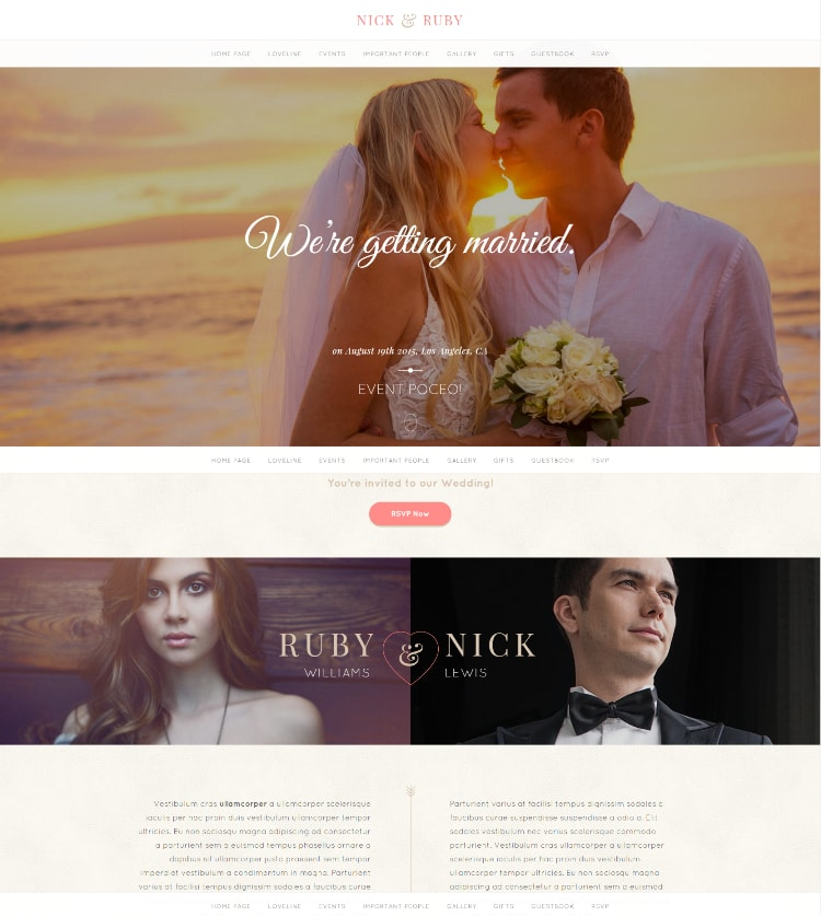 Yes responsive themeforest theme