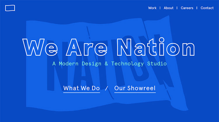 We Are Nation – Design and Development Studio