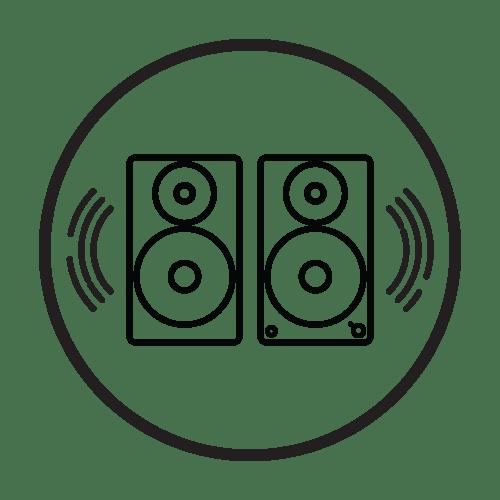 Fluance Ai60WW Active White Walnut Bookshelf Speakers