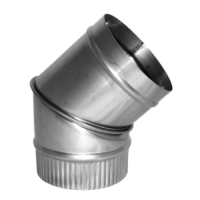 45 Degree Stainless Steel Pipe Elbow 5 (125mm) [TSWP