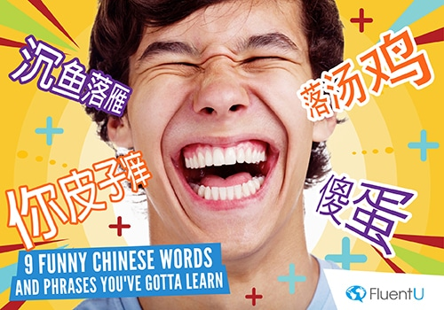 9 funny chinese words