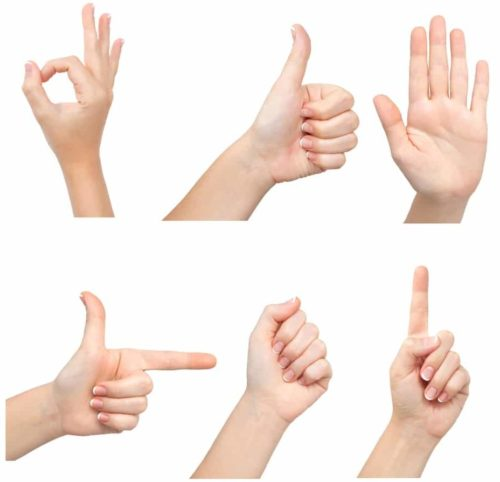 6 useful chinese gestures