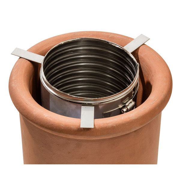Chimney Flue Liner Star Adaptor  150mm 6 inch