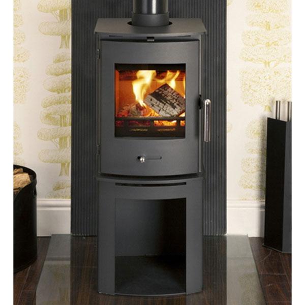 Newbourne 35fs Ecodesign Wood Burning And Multi Fuel Stove