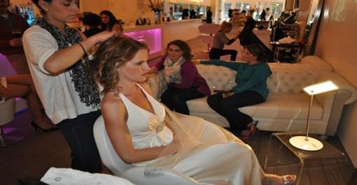 Denver Bride Artistry at Fluff – Updo and Make-Up at Fluff Bar