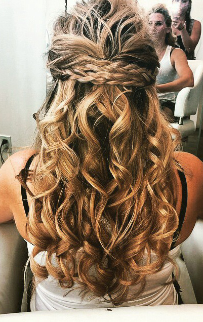 Beautiful Hair by Fluff Denver- Perfect for a Wedding or Any Occasion