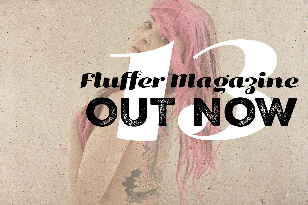 Angela Mazzanti Naked fluffer magazine #13 out now! | fluffer magazine