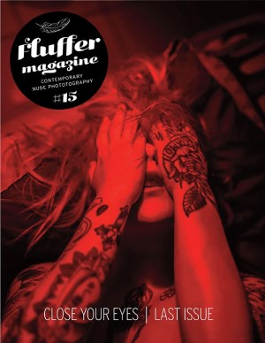 Cover from Fluffer Magazine 15. Photo Giorgio Violino. Model Miss Sorry
