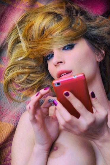 Photo Andre Moreau, model Ileana Macri