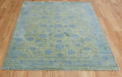 Aqua Silk E414A-d.-yellow-blue