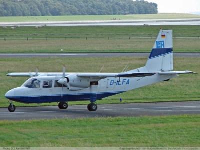 Britten-Norman BN-2 Islander - Specifications - Technical ...
