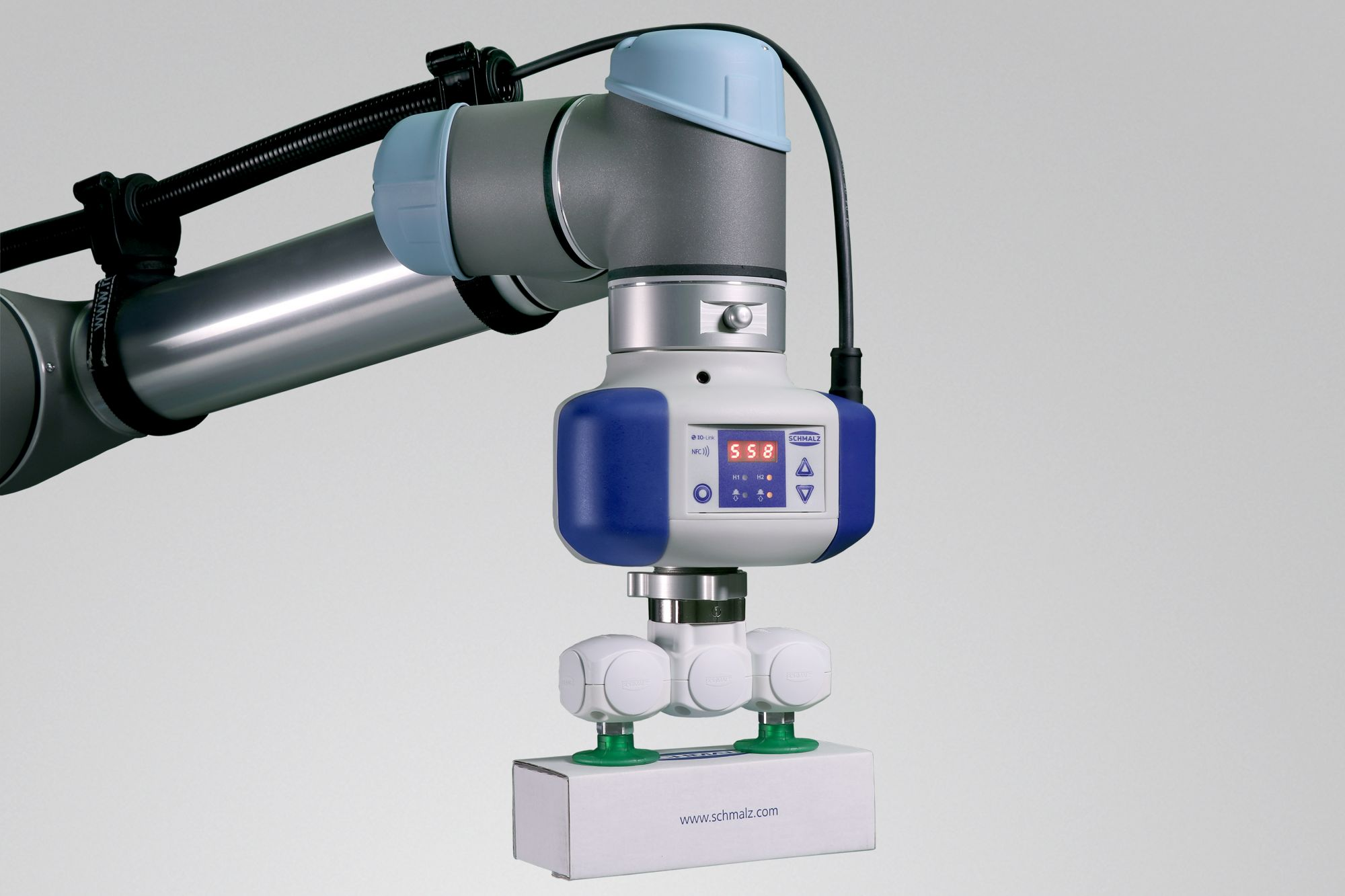 Pneumatik Bedeutet Bei Robotern: Spezialaufgaben Oder Vakuum