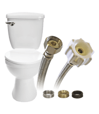 Universal Toilet Connector | Universal Toilet Supply Line ...