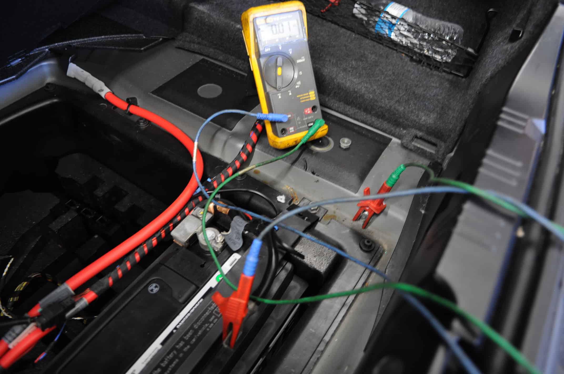 Amp Wiring Diagram E60 Diagnosing Parasitic Draw In A Bmw M5 Car Repair