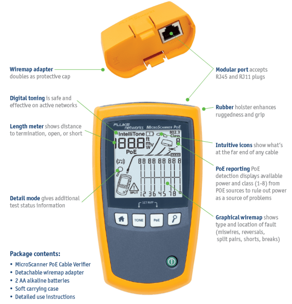 Top 10 Best Fluke Networks Ms2 100 Microscanner2 Cable