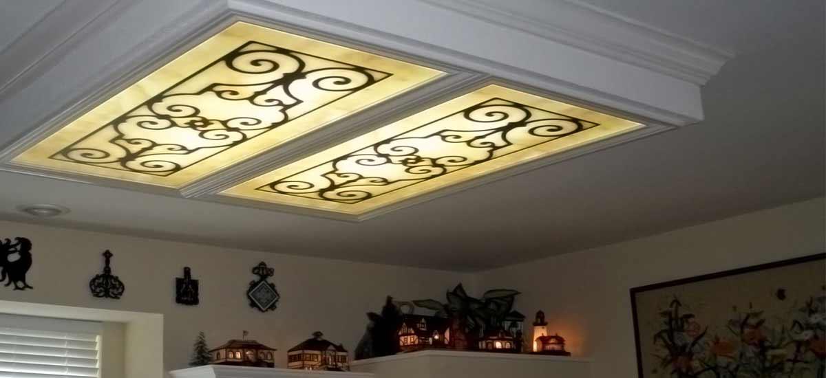 kitchen fluorescent light covers desks decorative ceiling panels 200 designs