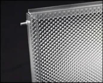 Frameless light covers broken or damaged replacement