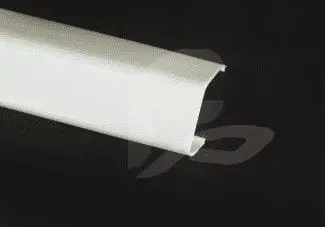 f-1098 white fluorescent plastic acrylic light cover and diffuser for broken or damaged