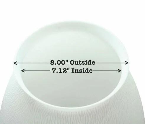 inside diameter globe fluorescent diffuser lamp light cover