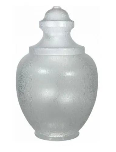 replacement plastic acorn broken or damaged street light cover diffuser fluorescent
