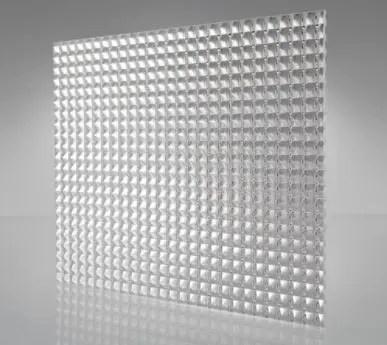 Pattern 15 prismatic panel