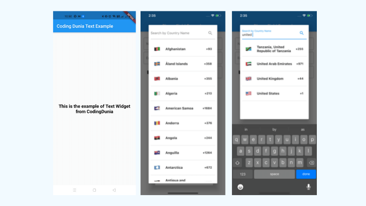 Read more about the article A customized Flutter TextFormField to Input International Phone Number along with Country Code Picker