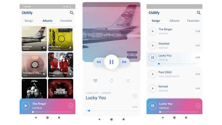 Read more about the article Flutter Music App Made with Provider and BLoC Pattern