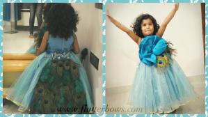 blue dresses for little girls
