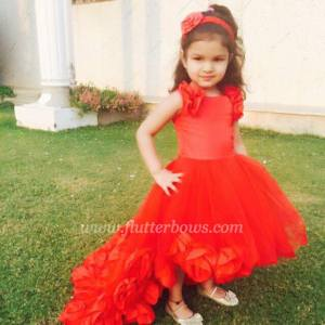 red party dresses for little girls