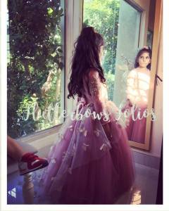 Butterfly Tulle Gown for Girls