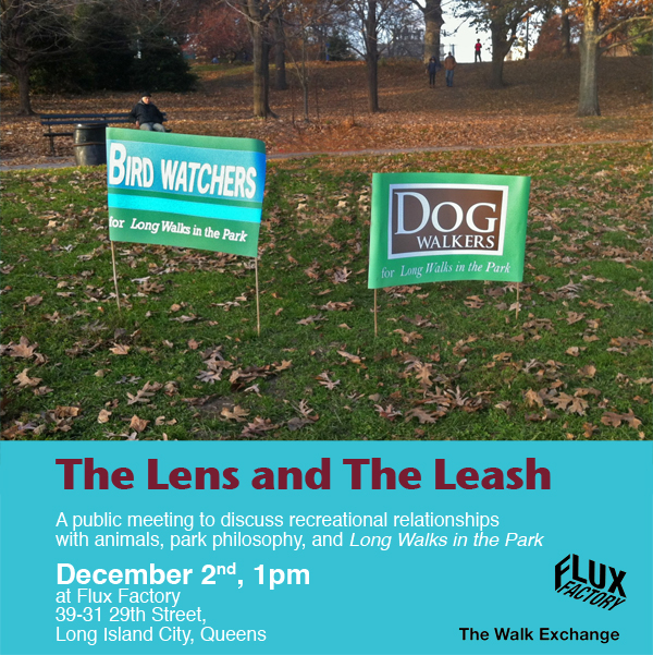 The Lens And The Leash
