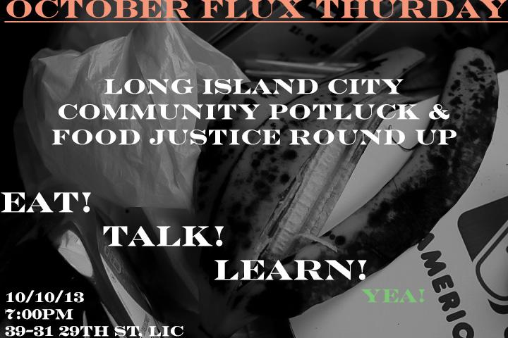 Flux Thursday: October  10, 2013