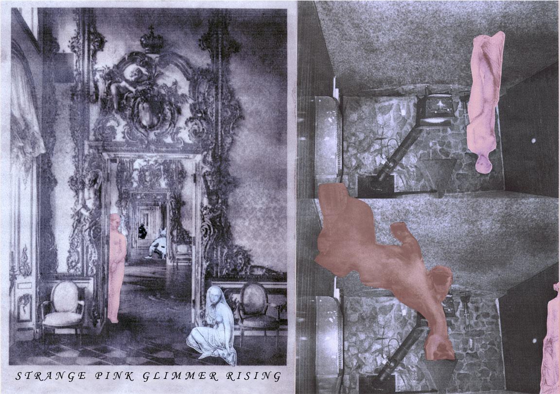 STRANGE PINK GLIMMER RISING